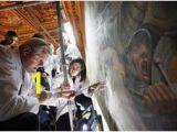 Lost Leonardo Da Vinci Mural Behind False Wall 314 Best Art Leonardo Di Ser Piero Da Vinci Images