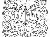 Lotus Flower Mandala Coloring Pages Printable Innovative Lotus Mandala Coloring Page Fresh Flower Pages Collection
