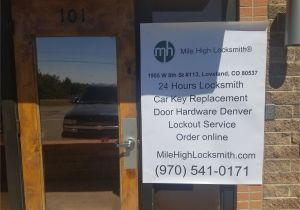 Loveland Colorado White Pages Phone Book Mile High Locksmith Loveland Tm In Loveland Co