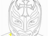 Luchador Mask Coloring Page 37 Best Coloring Pages Wwe Images
