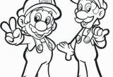 Luigi Mario Kart Coloring Pages Mario Bros Coloring Page 23 Elegant Mario and Luigi Coloring Pages