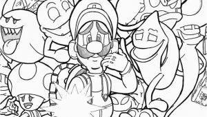 Luigi S Mansion 3 Coloring Pages Luigis Mansion 3 Free Coloring Pages