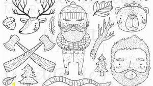 Lumberjack Coloring Pages Cute Lumberjack Clipart Wilderness Clipart Lumberjack Clip