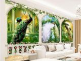 Magic Kingdom Wall Mural Beibehang European 3d Wallpaper Mural Arch Painting Oil Painting