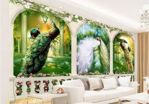 Magic Kingdom Wall Mural Beibehang European 3d Wallpaper Mural Arch Painting Oil Painting