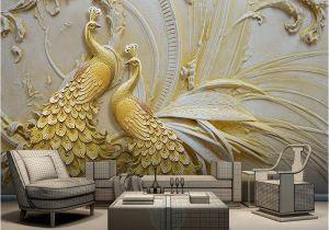 Magic Murals Discount Code Custom Mural Wallpaper for Walls 3d Stereoscopic Embossed Golden