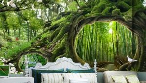 Magical forest Wall Mural Beibehang High Quality 3d Wallpaper Magical forest Tree Hole