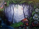 Magical forest Wall Mural Enchanted forest In 2019 Enchanted forest