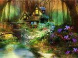Magical forest Wall Mural Enchanted forest Wallpaper