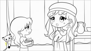 Maid Coloring Page Naaman S Little Maid Coloring Pages