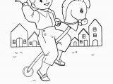 Maid Coloring Page Nursery Rhymes Quiz Coloring Page