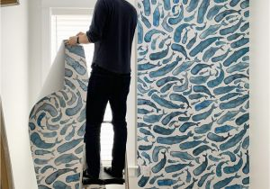Make Wall Mural From Photo How to Install A Removable Wallpaper Mural