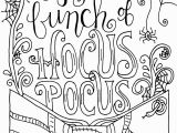 Make Your Own Coloring Pages with Words Printable Hocus Pocus Coloring Page with Images
