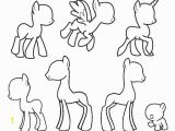 Make Your Own My Little Pony Coloring Pages My Little Pony Body Drawing