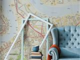 Make Your Own Wall Mural Classic Street Map Wallpaper Cafe