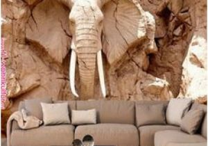 Man On the Moon Wall Mural Custom 3d Elephant Wall Mural Personalized Giant Wallpaper