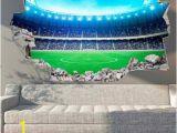 Man Utd Wall Mural Wandtattoos & Wandaufkleber
