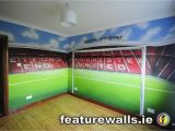 Manchester United Wall Murals Hand Painted Manchester United Old Trafford Kids Room Mural by