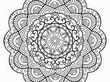 Mandala Coloring Pages for Adults Online Mandala From Free Coloring Books for Adults 26 M&alas