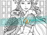 Manga Fairy Coloring Pages Snow Queen Fairy Tale Coloring Pages Coloring Book Pages Owl