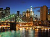 Manhattan Lights Wall Mural New York City California tour Blog