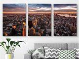 Manhattan Skyline Wall Mural Amazon Modern Salon theme Mural Aerial View Of the