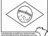 Map Coloring Pages for Kids Brazilian Flag & Map Coloring Page From Crayola