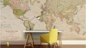 Map Wall Mural Decal World Map Wall Decal Wallpaper World Map Old Map Wall