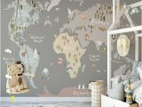 Map Wall Mural Kids Pin On Products