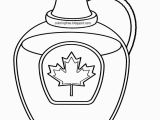Maple Syrup Coloring Pages Free Coloring Pages Printable to Color Kids Drawing Ideas