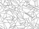 Marble Coloring Page Broken Glass Tessellation Coloring Page Free Printable for Adults