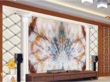 Marble Wall Mural Wallpaper 3d Wallpaper Custom Mural Peacock Window Mural Wallpaper