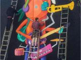 Mardi Gras Wall Mural Ten Hundred