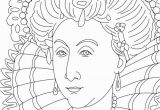 Marie Antoinette Coloring Pages Queen Elizabeth I Coloring Page sonlight Core C