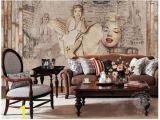 Marilyn Monroe Mural Wallpaper China Gris Nifty Marilyn Monroe Wallpaper Pure Hand Draw Wall Mural