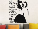 Marilyn Monroe Wall Mural Großhandel Y Marilyn Monroe Wandtattoo Aufkleber Wohnkultur Einfach Abnehmbare Aufkleber Wasserdichte Tapete Prinzessin Decroom Wandbild D188 Von