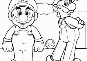 Mario and Luigi Coloring Pages Printable Beautiful Mario and Luigi Coloring Pages Coloring Pages