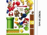 Mario Bros Wall Mural Ipiggy Super Mario Bros Home Kid Decal Art Mural Wall Vinyl