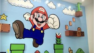 Mario Kart Wall Mural Mario Wall Mario In 2019