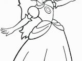 Mario Princess Peach Coloring Pages to Print Princess Peach Coloring Page Princess Peach Coloring Page with
