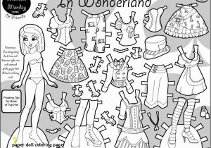 Marisole Monday Paper Doll Coloring Pages 27 Paper Doll Coloring Page