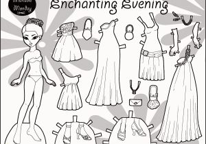 Marisole Monday Paper Doll Coloring Pages Marisole Monday Paper Doll Coloring Pages Beautiful Ballgowns