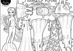 Marisole Monday Paper Doll Coloring Pages Paper Doll Coloring Pages American Girl Dolls Coloring Pages Unique