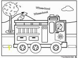 Marshall Fire Truck Coloring Page Firetruck Color Page