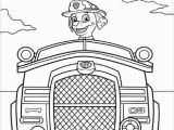 Marshall Fire Truck Coloring Page Paw Patrol Fire Truck Coloring Pages