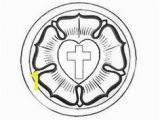 Martin Luther Rose Coloring Page Sunday School Craft A Simple Luther S Seal Craft Using A Doily for