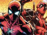 Marvel Comic Book Wall Mural Spider Man Deadpool Marvel Ics 4k Wallpaper Spider Man
