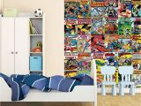 Marvel Comic Wall Mural 1 Wall 1 Wall Wallpaper Mural Ics Batman Superman Wonder
