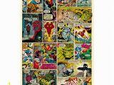 Marvel Comic Wall Mural Marvel Fototapete Ic 232×158 Cm Hier Bei