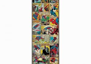 Marvel Comics Mural Wall Graphic 3 In X 17 5 In Marvel Ic Panel Spiderman Classic Peel